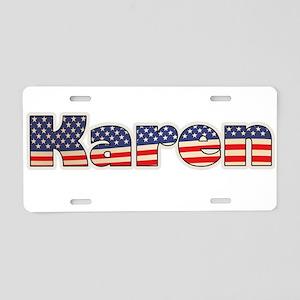 American Karen Aluminum License Plate