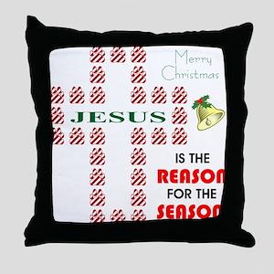 Reason For The Season Throw Pillow