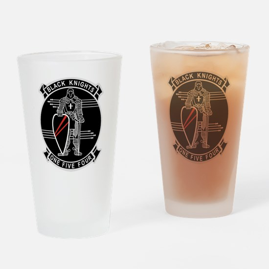 VF-154 Black Knights Drinking Glass