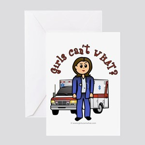 Light EMT-Paramedic Greeting Card
