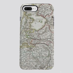Vintage Map of Holland an iPhone 7 Plus Tough Case