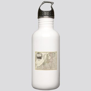 Vintage Map of Holland Stainless Water Bottle 1.0L