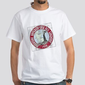 Loch Ness Expedition - Distressed White T-Shirt