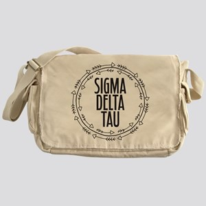 Sigma Delta Tau Arrow Messenger Bag