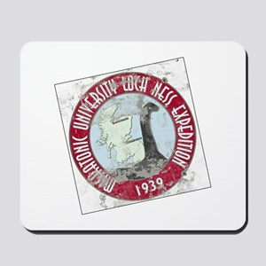 Loch Ness Expedition - Distressed Mousepad
