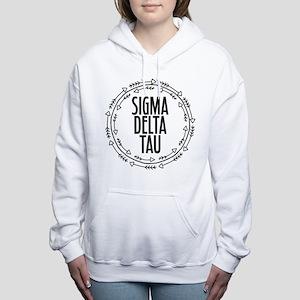 Sigma Delta Tau Arrow Women's Hooded Sweatshirt
