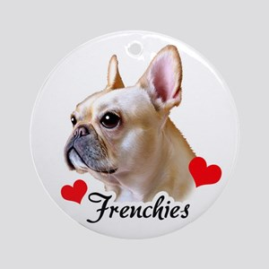 Frenchie! Ornament (Round)