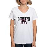 Nonsten Women's V-Neck T-Shirt