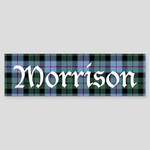Tartan - Morrison Sticker (Bumper)