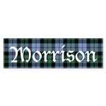 Tartan - Morrison Sticker (Bumper 50 pk)