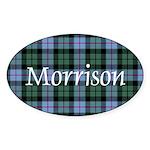 Tartan - Morrison Sticker (Oval)