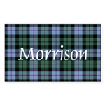 Tartan - Morrison Sticker (Rectangle)