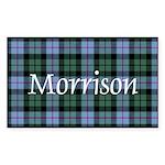 Tartan - Morrison Sticker (Rectangle 10 pk)