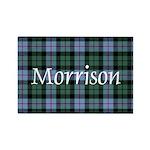Tartan - Morrison Rectangle Magnet (10 pack)