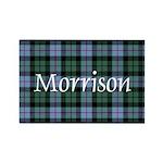 Tartan - Morrison Rectangle Magnet (100 pack)