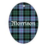 Tartan - Morrison Ornament (Oval)