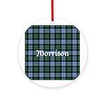 Tartan - Morrison Ornament (Round)