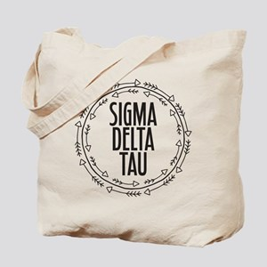 Sigma Delta Tau Arrow Tote Bag