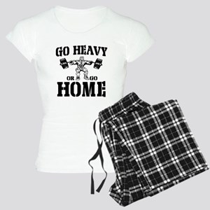 Go Heavy Or Go Home Weightlifting Women's Light Pa