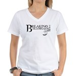 Breaking Headboards 2011 Women's V-Neck T-Shirt