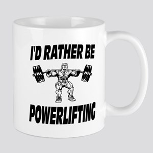 I'd Rather Be Powerlifting Weightlifting Mug