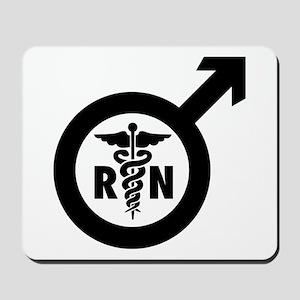 Murse Male Nurse Symbol Mousepad