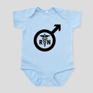 Murse Male Nurse Symbol Infant Bodysuit