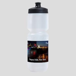 Niagara Falls & Peace Bridge Sports Bottle