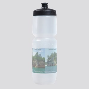Pictured Rocks National Lakeshore Sports Bottle