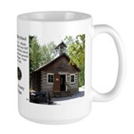 Old Bailey Schoolhouse History Large Mugs