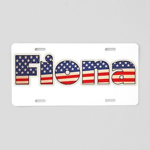 American Fiona Aluminum License Plate