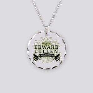 Property of Edward Cullen Necklace Circle Charm