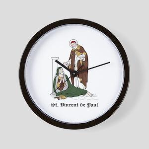St. Vincent de Paul Wall Clock