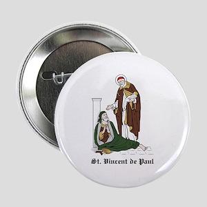 """St. Vincent de Paul 2.25"""" Button (10 pack)"""