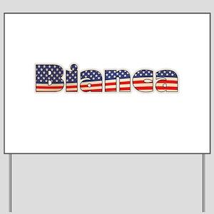 American Bianca Yard Sign