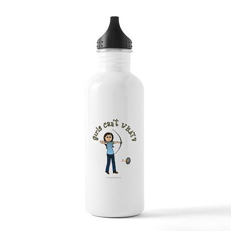 Light Blue Archery Stainless Water Bottle 1.0L