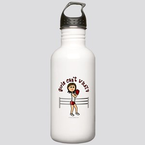 Light Red Boxer Stainless Water Bottle 1.0L