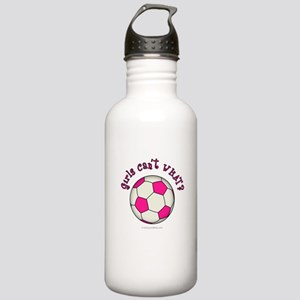Pink Soccer Ball Stainless Water Bottle 1.0L