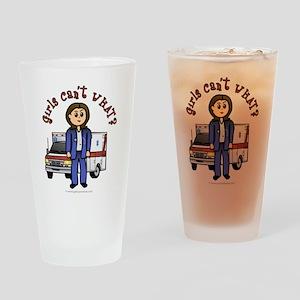 Light EMT-Paramedic Drinking Glass
