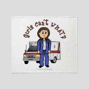 Light EMT-Paramedic Throw Blanket