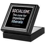 SOCIALISM: For Impotent Liberals Keepsake Box