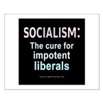 SOCIALISM: For Impotent Liberals Small Poster