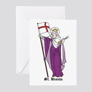 St. Ursula Greeting Cards (Pk of 10)