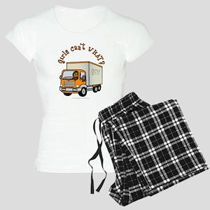 Dark Truck Driver Women's Light Pajamas