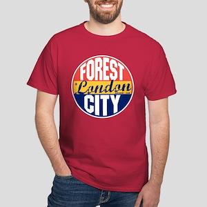London Vintage Label Dark T-Shirt