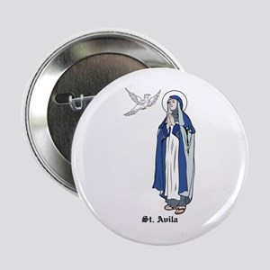 """St. Theresa 2.25"""" Button (10 pack)"""