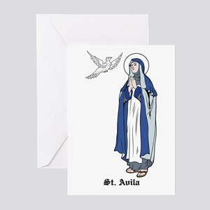St. Theresa Greeting Cards (Pk of 10)