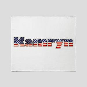 American Kamryn Throw Blanket