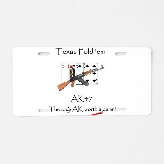 TFE AK47 Aluminum License Plate