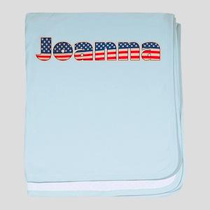 American Joanna baby blanket